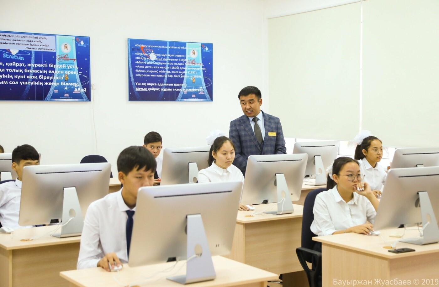 Премьер-министр РК открыл школу-гимназию имени Абая в Нур-Султане, фото-2