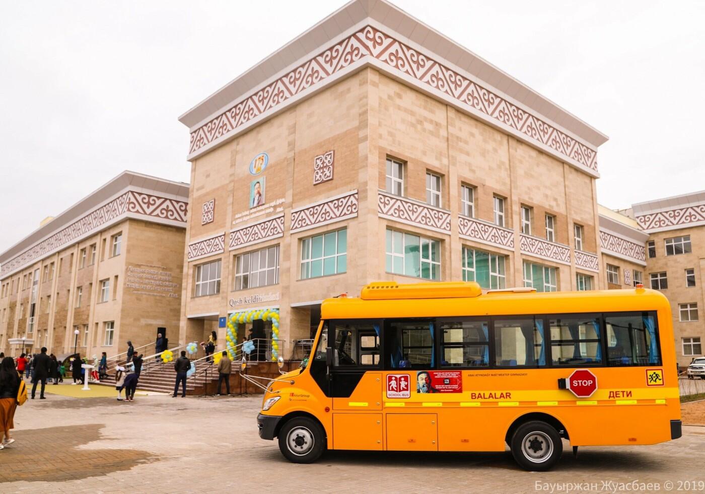 Премьер-министр РК открыл школу-гимназию имени Абая в Нур-Султане, фото-3