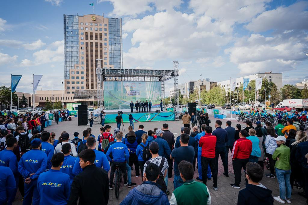 Спортивный фестиваль Qazaqstan Jastar Fest начался в Нур-Султане (фото), фото-5