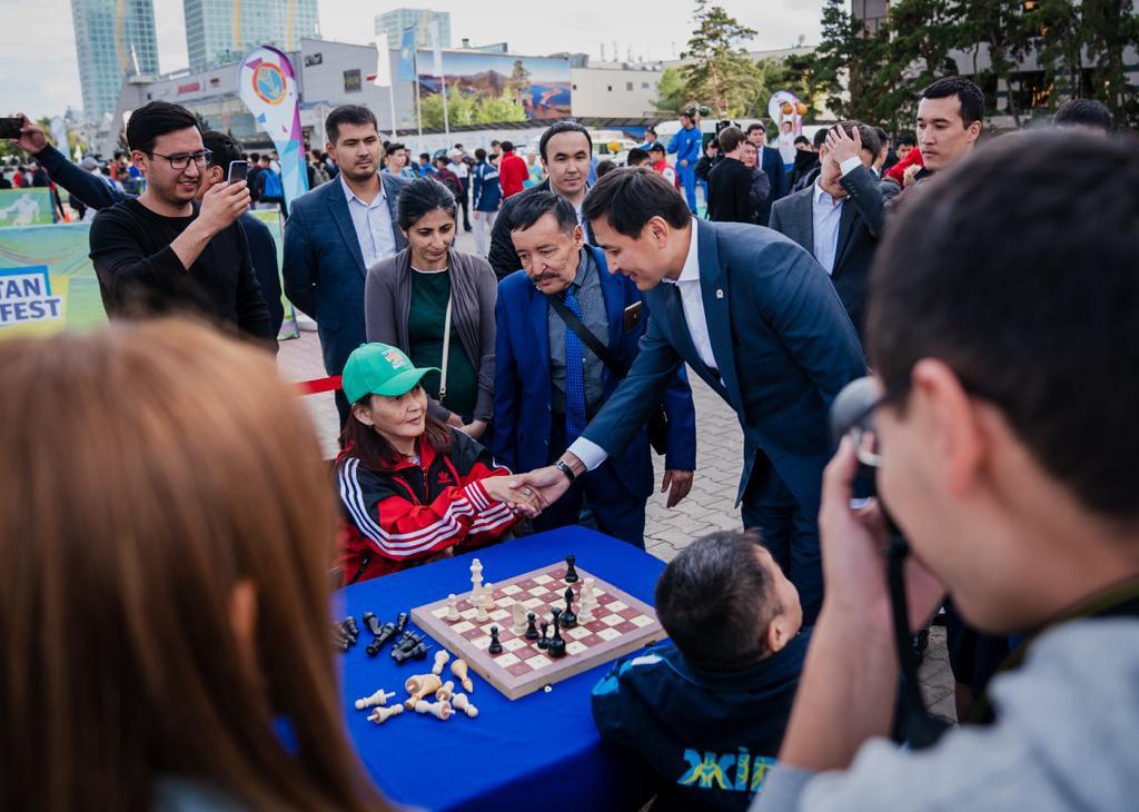 Спортивный фестиваль Qazaqstan Jastar Fest начался в Нур-Султане (фото), фото-1