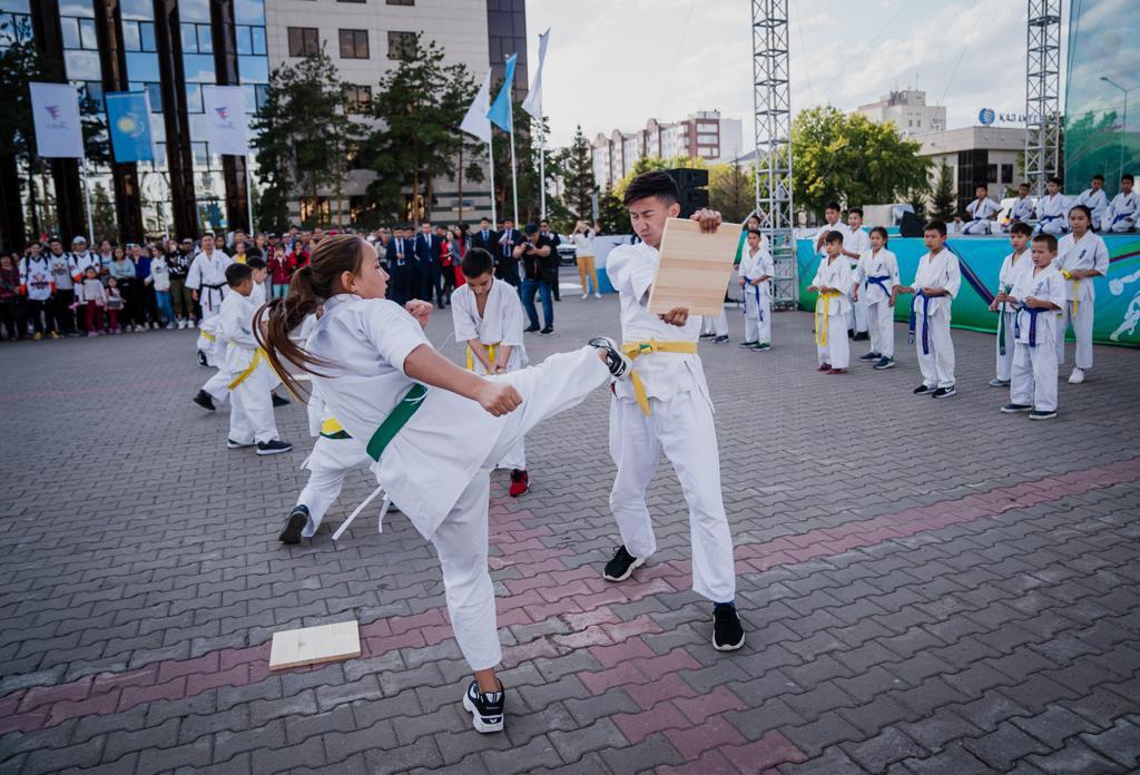 Спортивный фестиваль Qazaqstan Jastar Fest начался в Нур-Султане (фото), фото-7