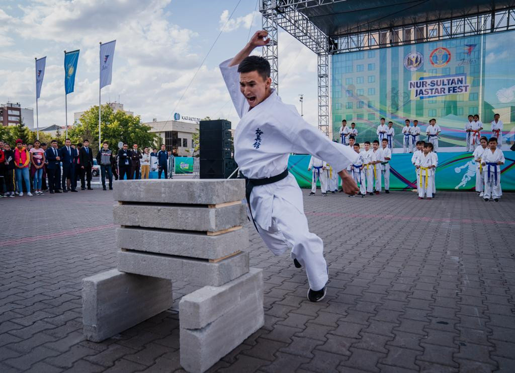 Спортивный фестиваль Qazaqstan Jastar Fest начался в Нур-Султане (фото), фото-2