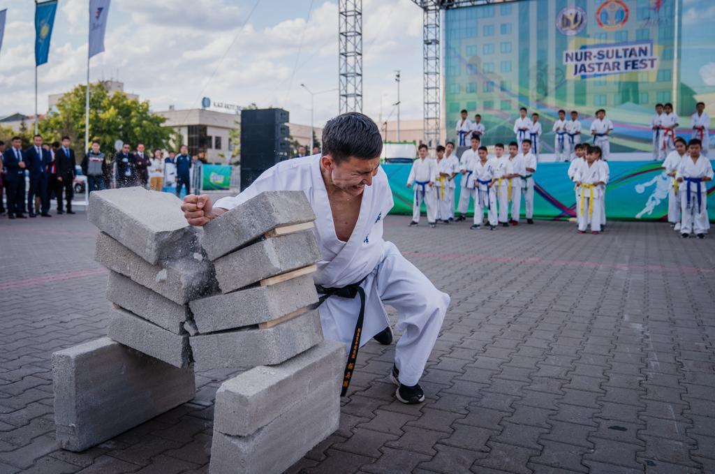 Спортивный фестиваль Qazaqstan Jastar Fest начался в Нур-Султане (фото), фото-3