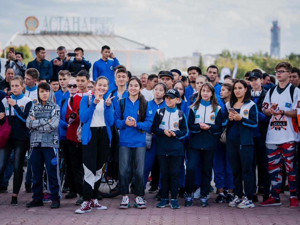 Спортивный фестиваль Qazaqstan Jastar Fest начался в Нур-Султане (фото), фото-9