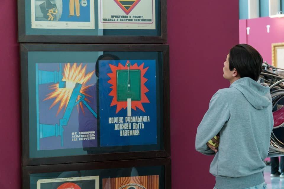 Выставка советских картин прошла в Нур-Султане (фото), фото-8