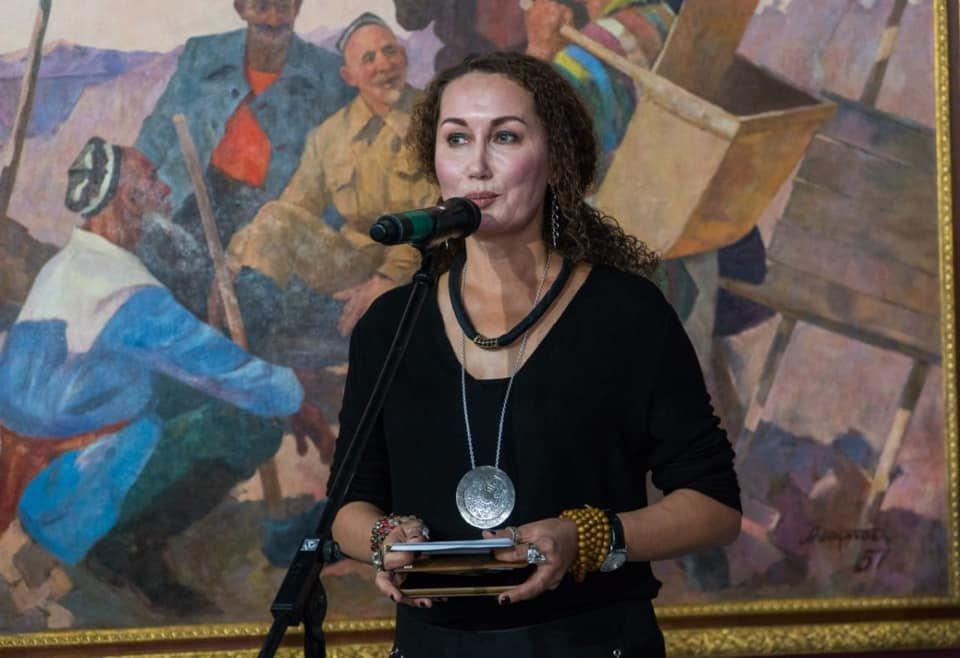Выставка советских картин прошла в Нур-Султане (фото), фото-10