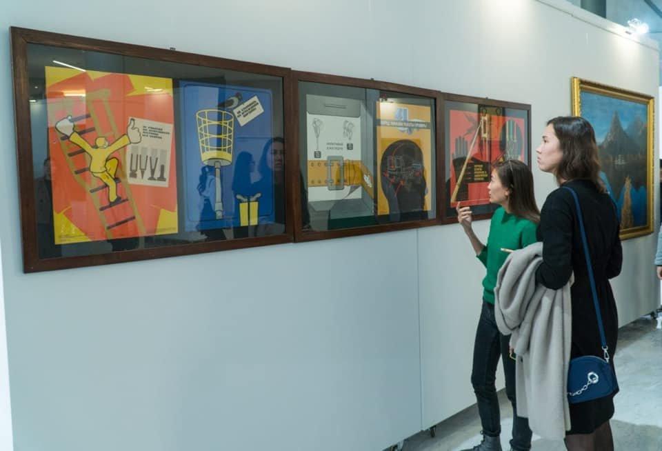 Выставка советских картин прошла в Нур-Султане (фото), фото-6