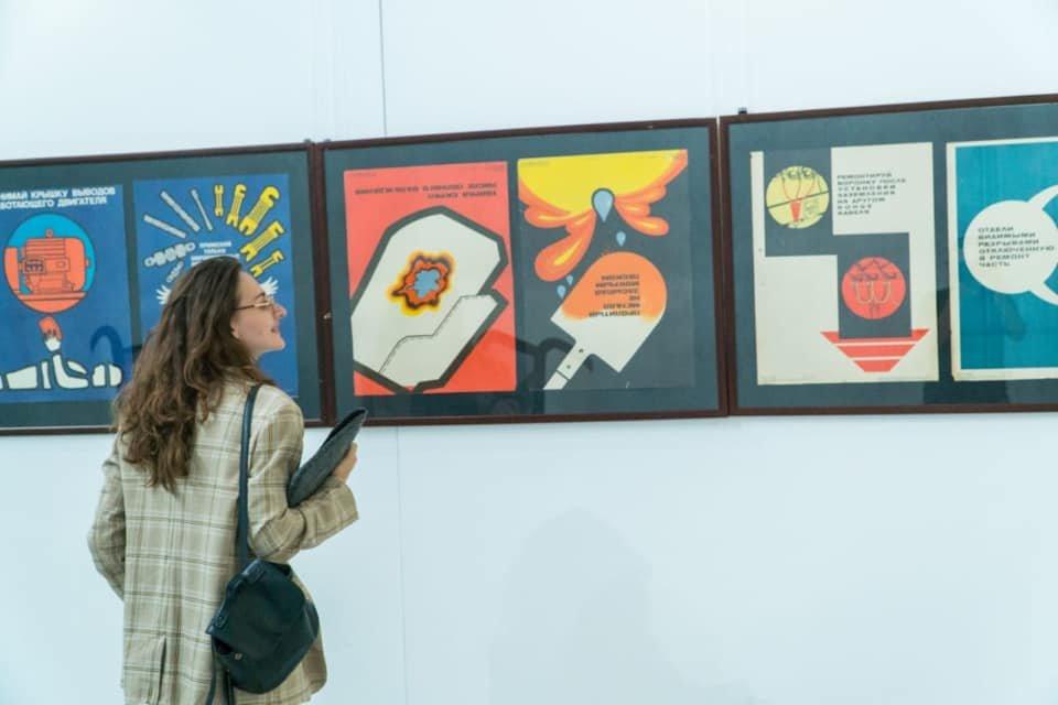 Выставка советских картин прошла в Нур-Султане (фото), фото-1