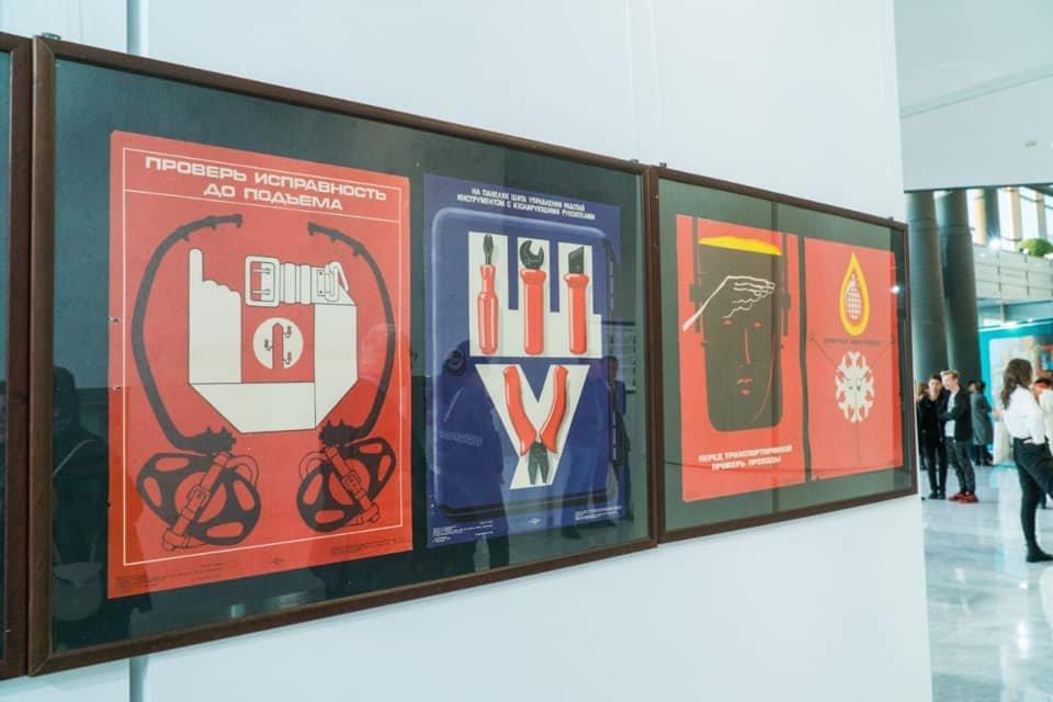 Выставка советских картин прошла в Нур-Султане (фото), фото-9