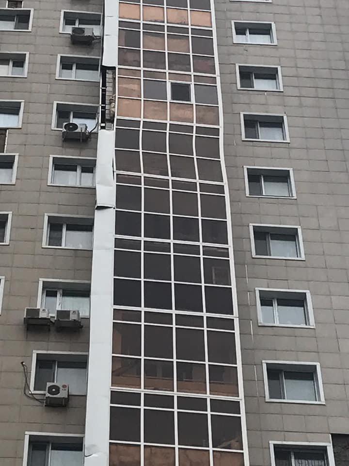 Покосившийся балкон напугал жителей многоэтажки в Нур-Султане, фото-2