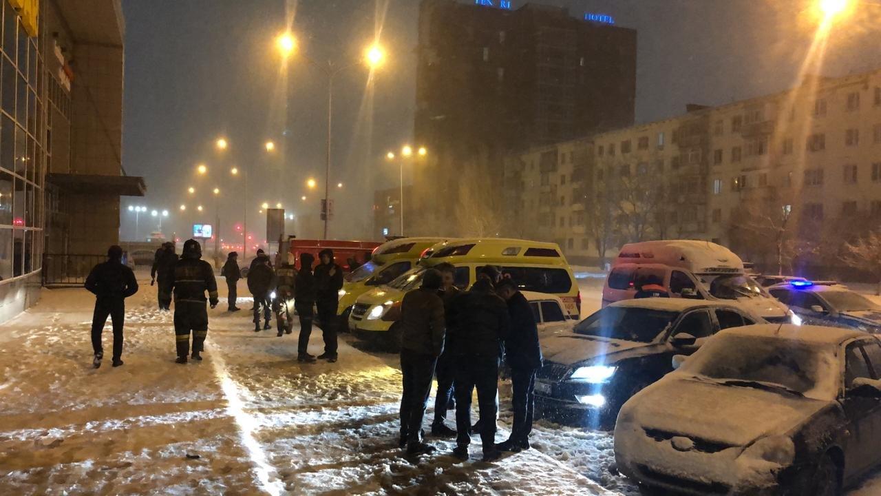 Пожарные спасли 8 человек при возгорании ночного клуба в Нур-Султане, фото-2, Фото пресс-службы КЧС МВД РК