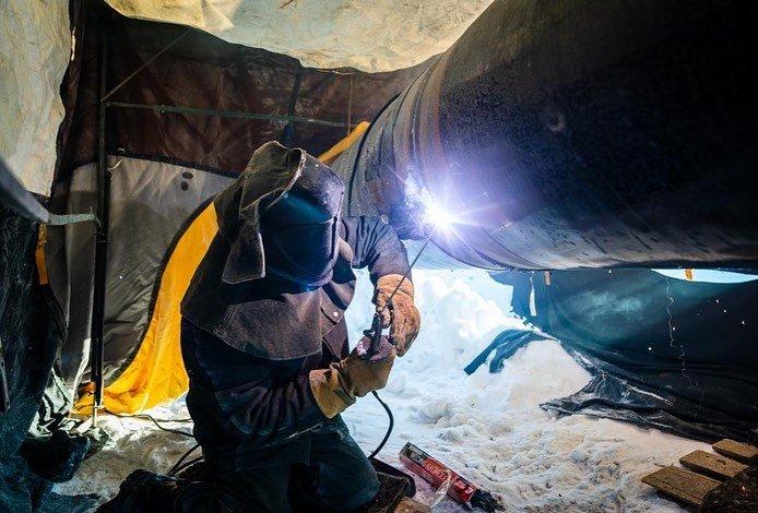 Алтай Кульгинов проинспектировал сварочные работы на газопроводе , фото-2