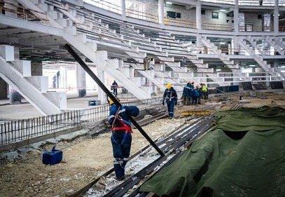 Как строят крытый стадион для легкоатлетов в Нур-Султане (фото), фото-4