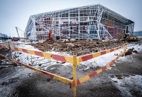 Как строят крытый стадион для легкоатлетов в Нур-Султане (фото), фото-6