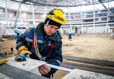 Как строят крытый стадион для легкоатлетов в Нур-Султане (фото), фото-2