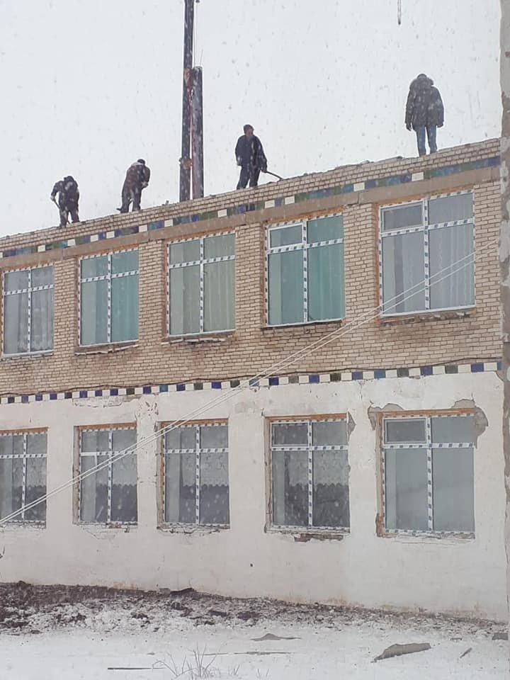 В Акмолинской области ураган сорвал крышу школы (фото), фото-4