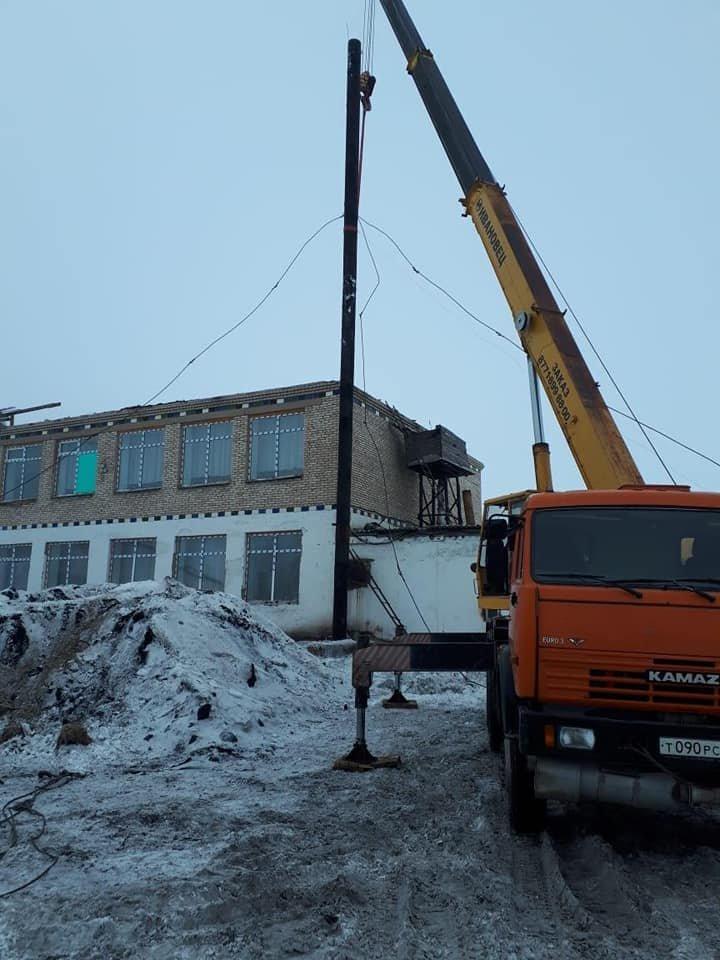 В Акмолинской области ураган сорвал крышу школы (фото), фото-1