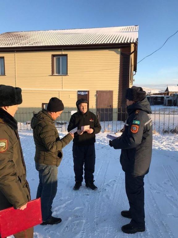 В домах малоимущих Акмолинской области установили 140 датчиков угарного газа, фото-4