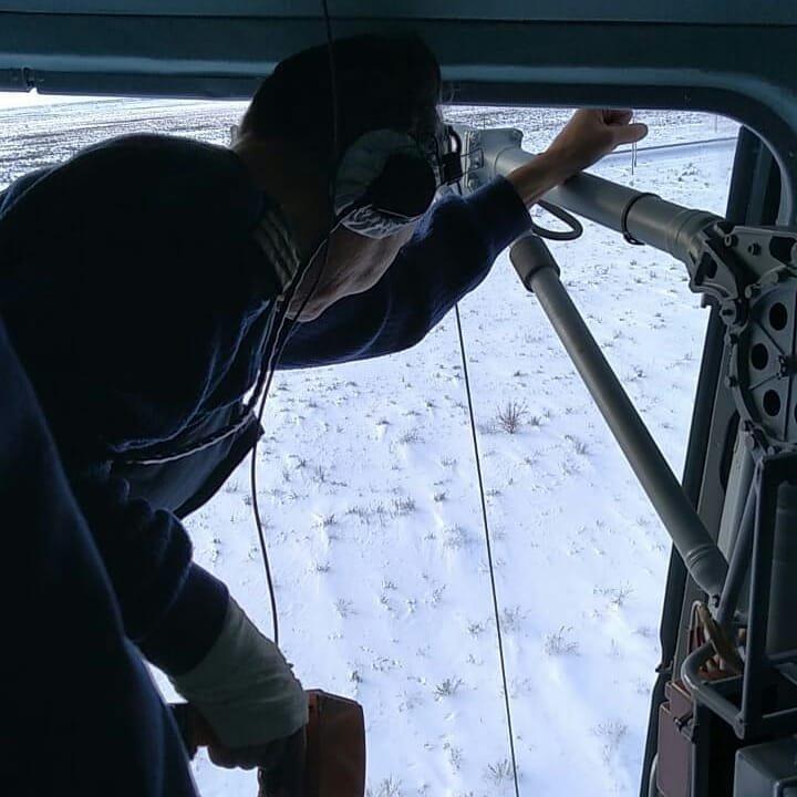 Спасатели Нур-Султана провели тренировку с использованием вертолёта (фото), фото-2