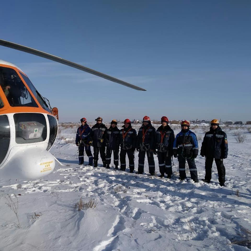Спасатели Нур-Султана провели тренировку с использованием вертолёта (фото), фото-1