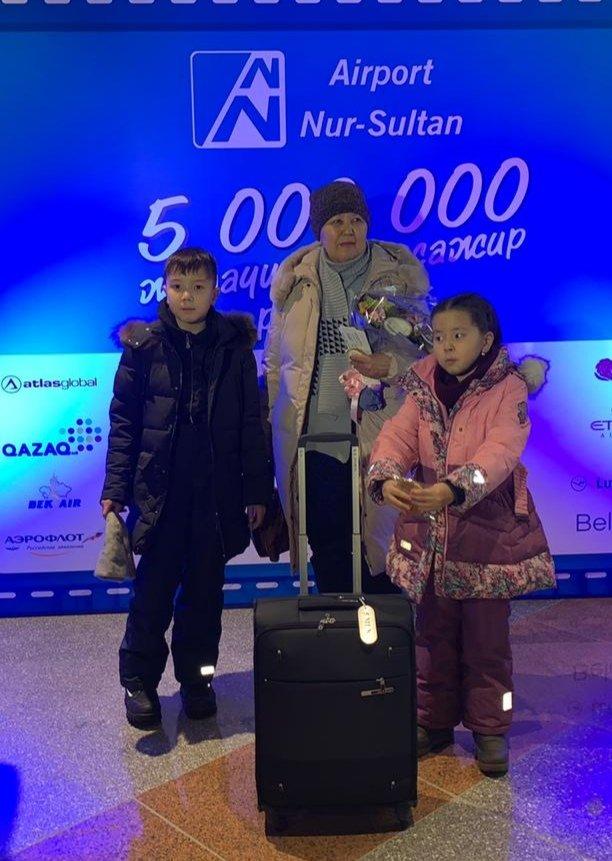 Пятимиллионного пассажира встретил аэропорт Нур-Султана, фото-1