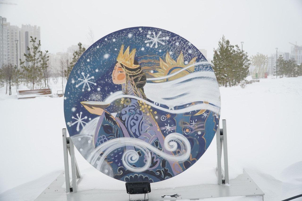Более 300 снеговиков получили «прописку» в Ботаническом саду Нур-Султана, фото-3