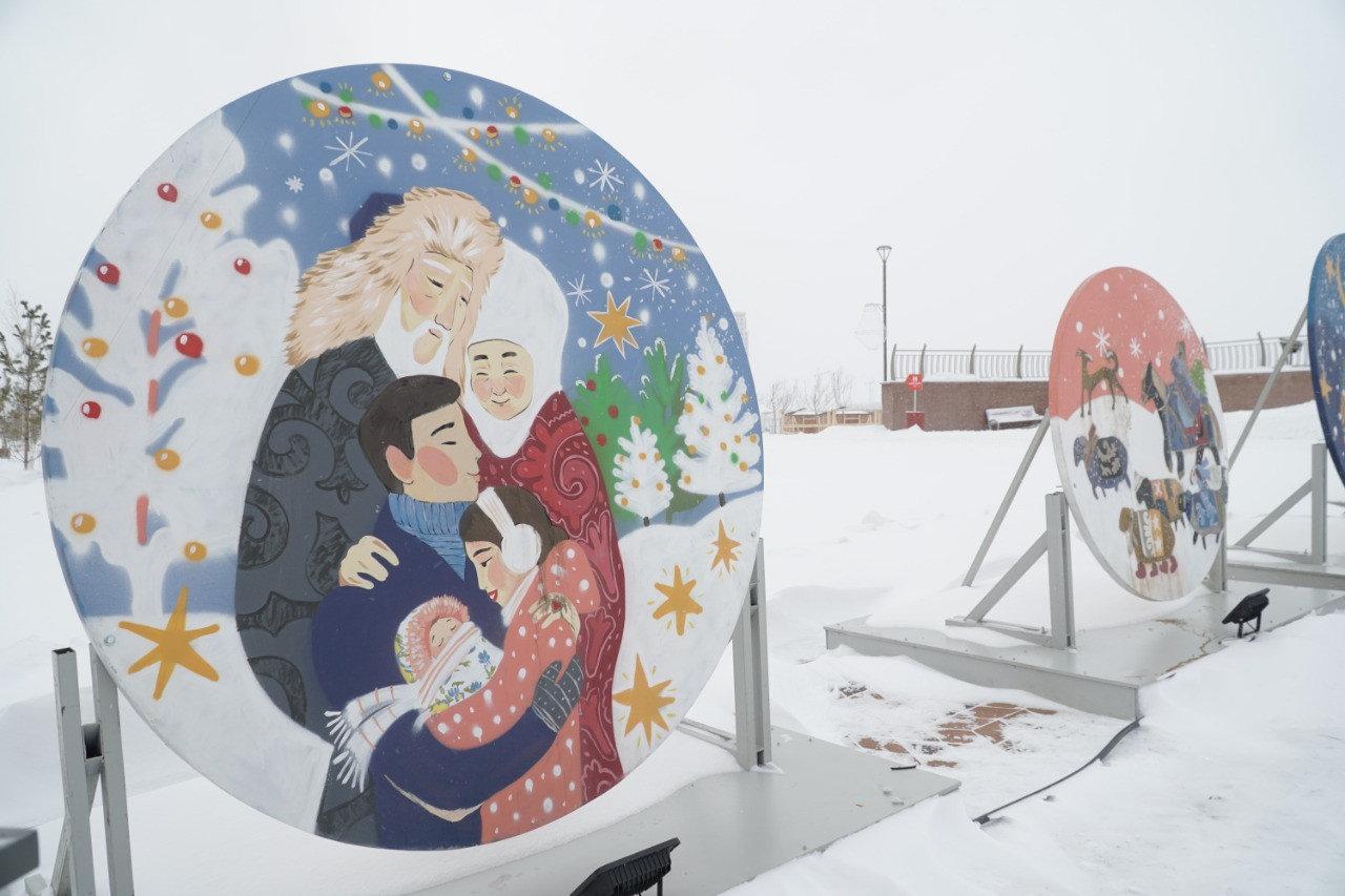 Более 300 снеговиков получили «прописку» в Ботаническом саду Нур-Султана, фото-2
