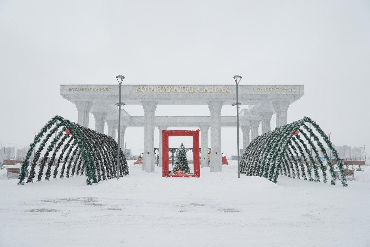 Более 300 снеговиков получили «прописку» в Ботаническом саду Нур-Султана, фото-1