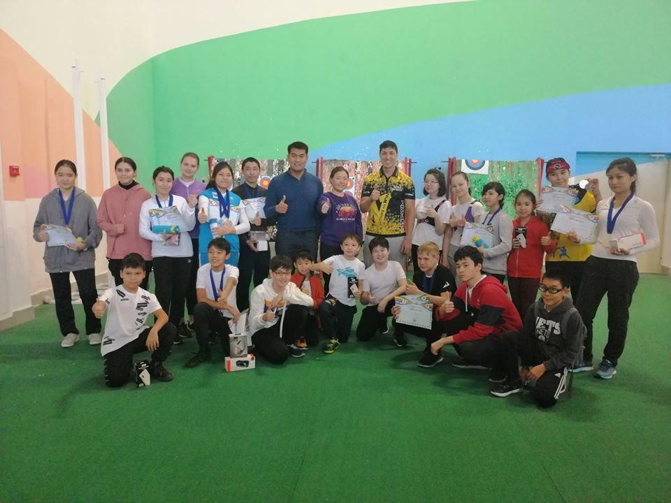 Чемпионат среди юношей и детей-лучников прошёл в Акмолинской области (фото), фото-5