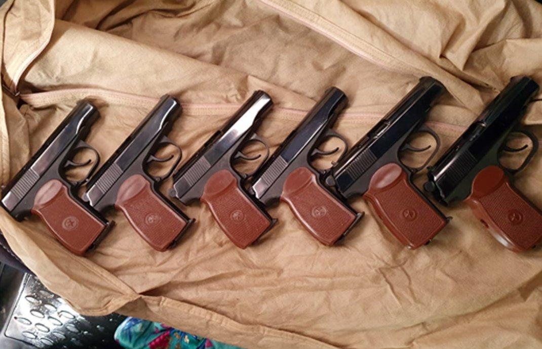 КНБ пресёк канал контрабанды оружия из России в Акмолинскую область (видео), фото-1