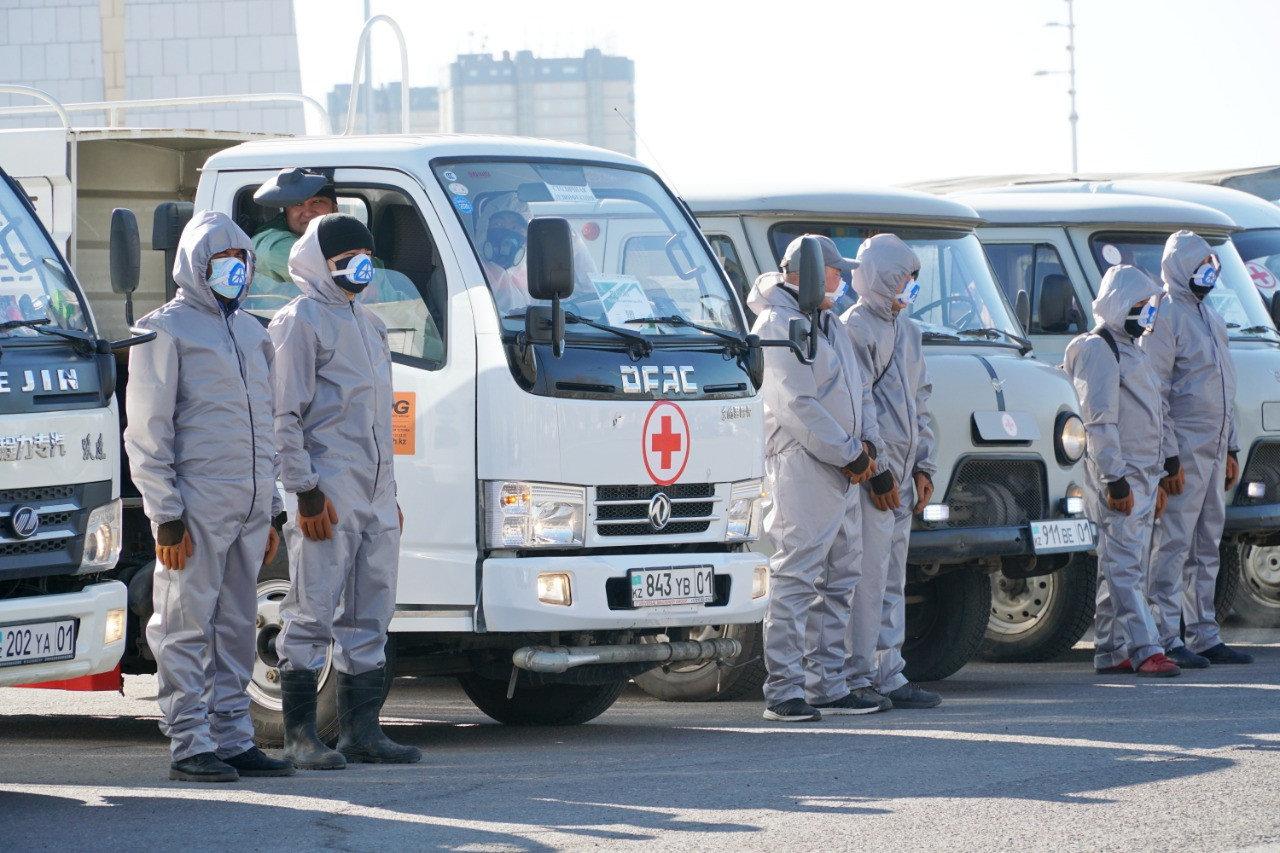 Дезинсекционные работы против комаров продолжаются в Нур-Султане, фото-1