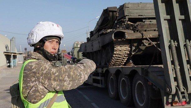 Военные были подняты по тревоге, фото МВД РК/Instagram