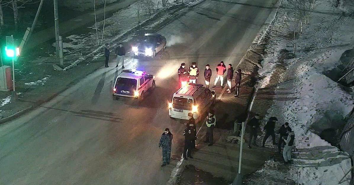 Трое нетрезвых напали на водителя в Акмолинской области