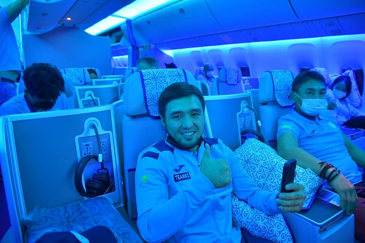 Казахстанские олимпийцы вылетели в Токио, НОК